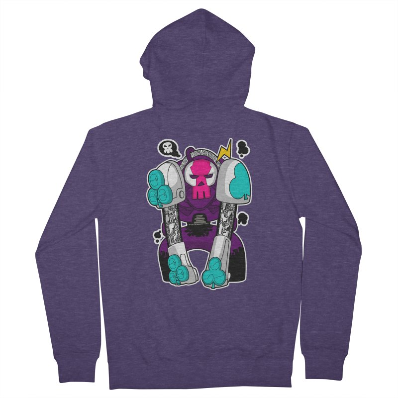 ClubBot Men's French Terry Zip-Up Hoody by upstartthunder's Artist Shop