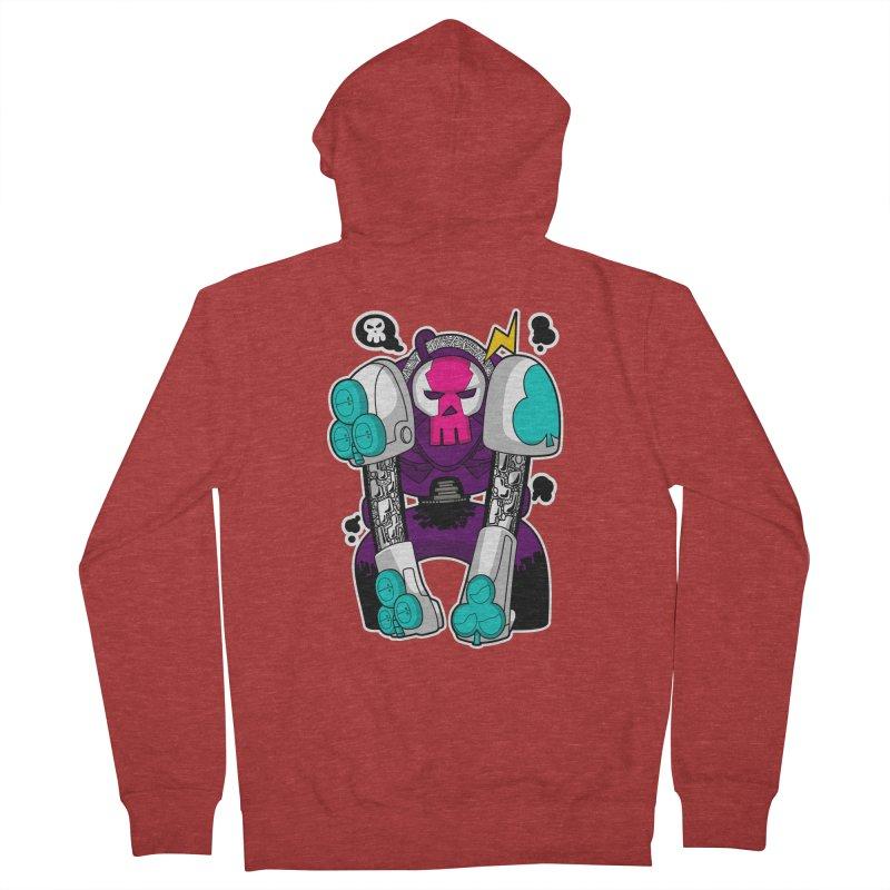 ClubBot Men's Zip-Up Hoody by upstartthunder's Artist Shop