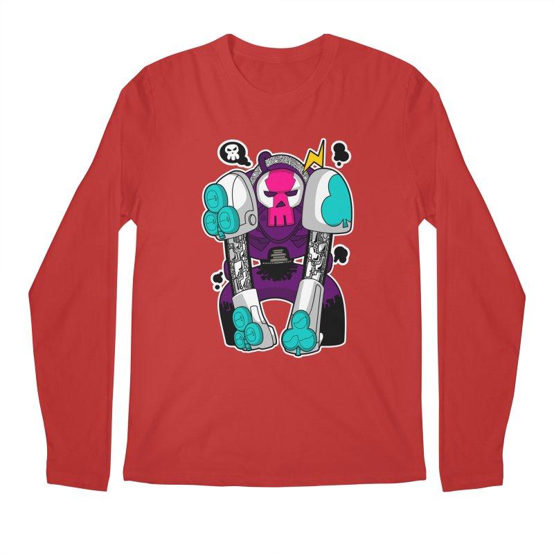 ClubBot Men's Regular Longsleeve T-Shirt by upstartthunder's Artist Shop