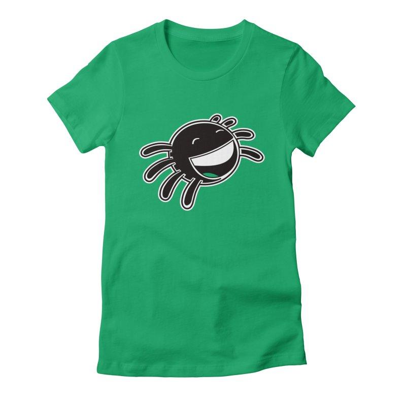 Smider Women's Fitted T-Shirt by upstartthunder's Artist Shop