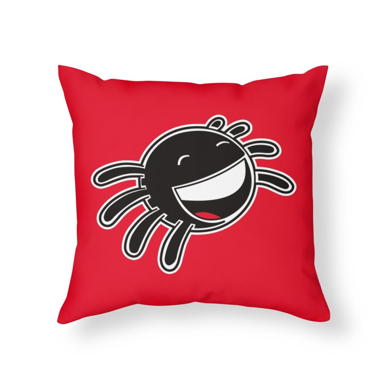 Smider Home Throw Pillow by upstartthunder's Artist Shop