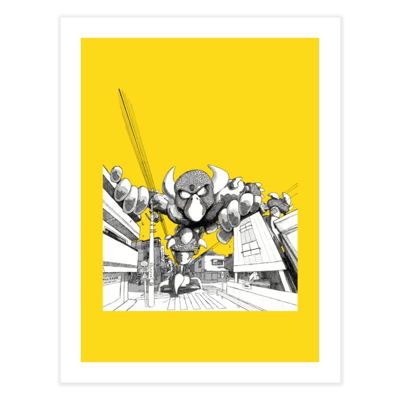 Kaiju Home Fine Art Print by upstartthunder's Artist Shop