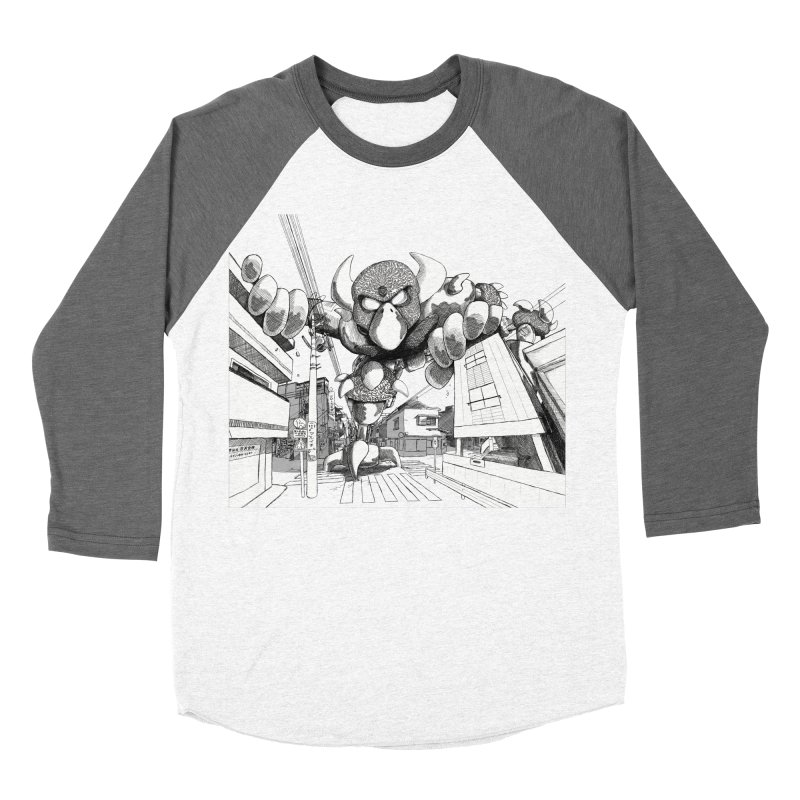 Kaiju Women's Longsleeve T-Shirt by upstartthunder's Artist Shop