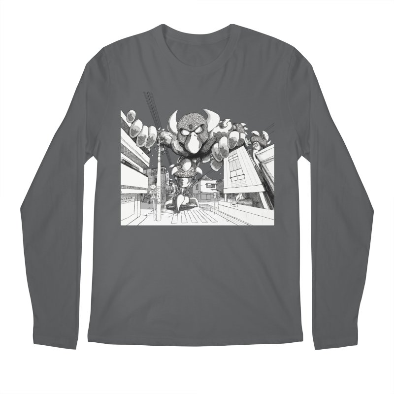Kaiju Men's Longsleeve T-Shirt by upstartthunder's Artist Shop
