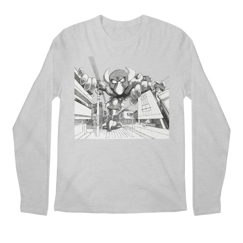 Kaiju Men's Longsleeve T-Shirt by upstartthunder's Artist Shop