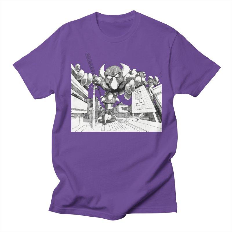 Kaiju Men's Regular T-Shirt by upstartthunder's Artist Shop