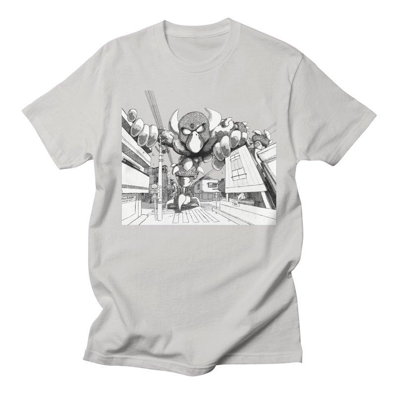 Kaiju Men's T-Shirt by upstartthunder's Artist Shop