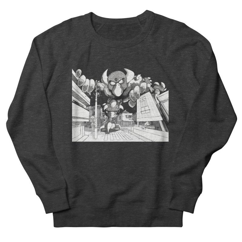 Kaiju Women's French Terry Sweatshirt by upstartthunder's Artist Shop