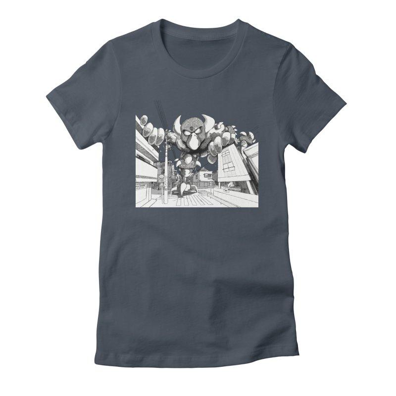 Kaiju Women's T-Shirt by upstartthunder's Artist Shop