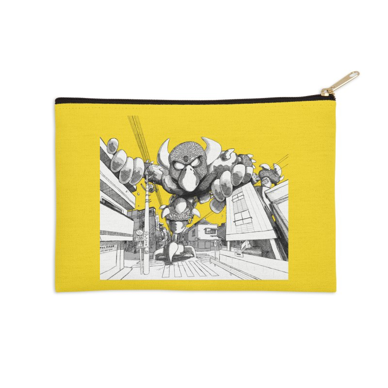 Kaiju Accessories Zip Pouch by upstartthunder's Artist Shop