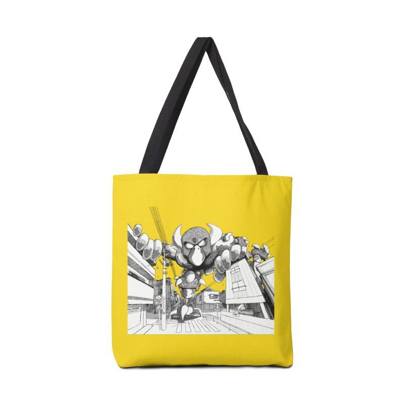 Kaiju Accessories Bag by upstartthunder's Artist Shop