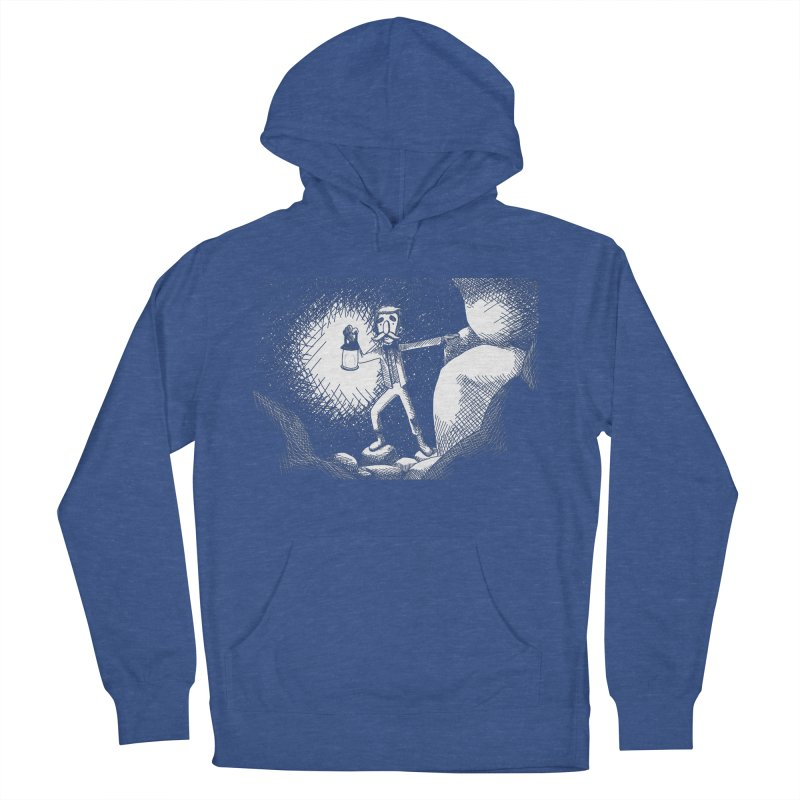 Adventuring Women's French Terry Pullover Hoody by upstartthunder's Artist Shop