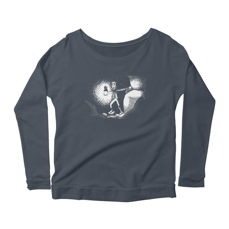 Adventuring Women's Scoop Neck Longsleeve T-Shirt by upstartthunder's Artist Shop