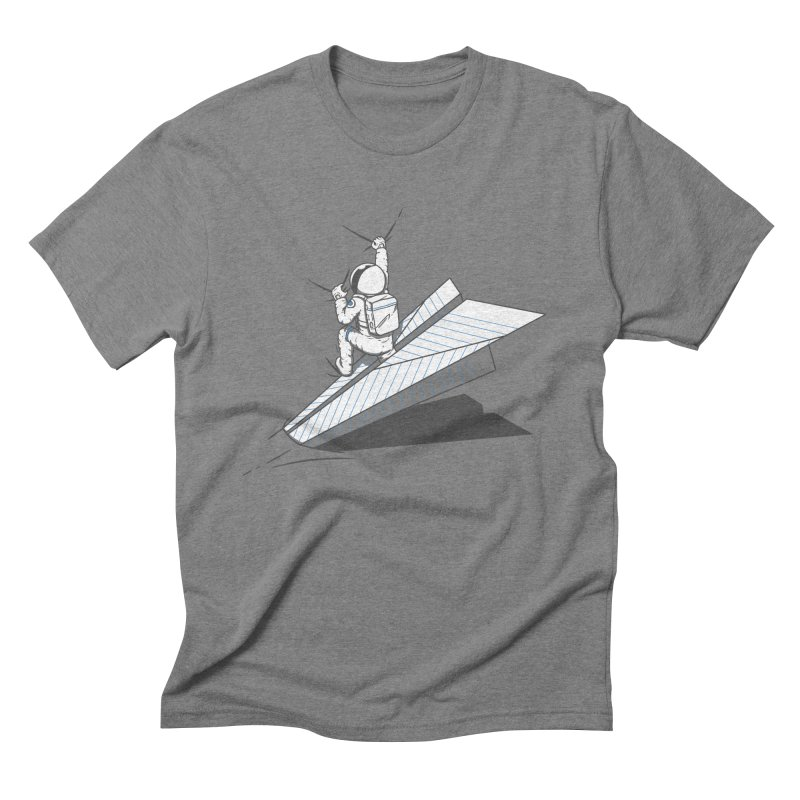 Landing on you Men's Triblend T-Shirt by uptme's Artist Shop