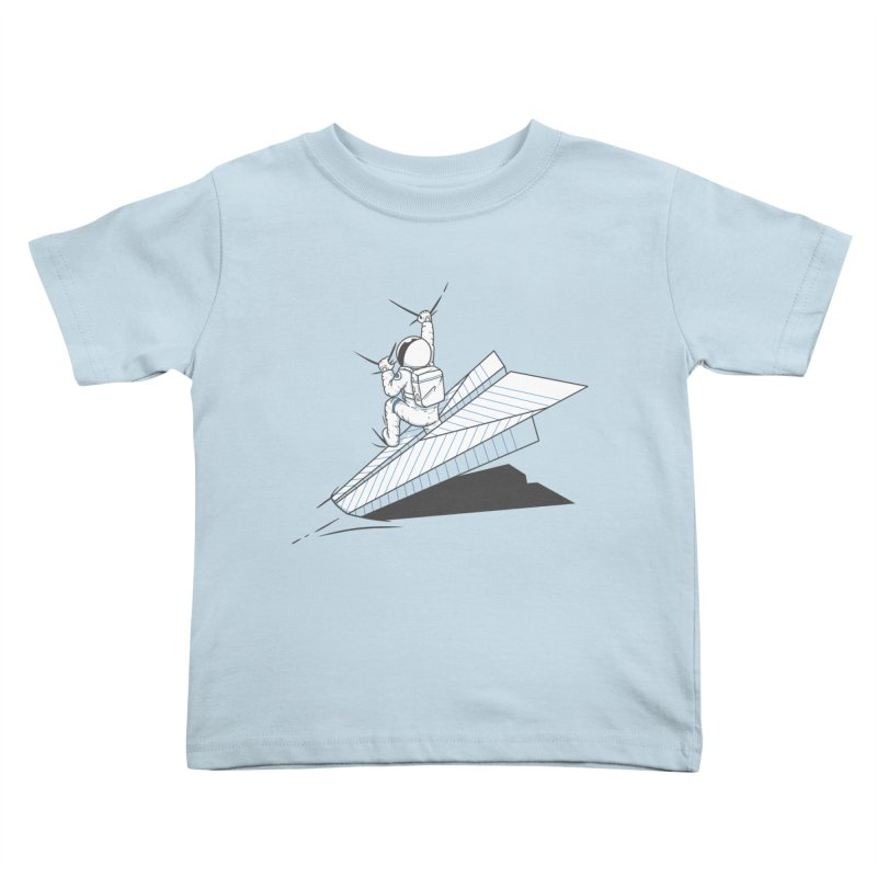 Landing on you Kids Toddler T-Shirt by uptme's Artist Shop