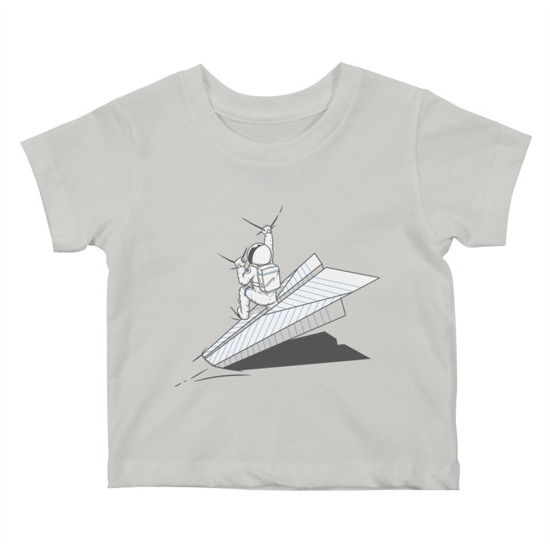 Landing on you Kids Baby T-Shirt by uptme's Artist Shop