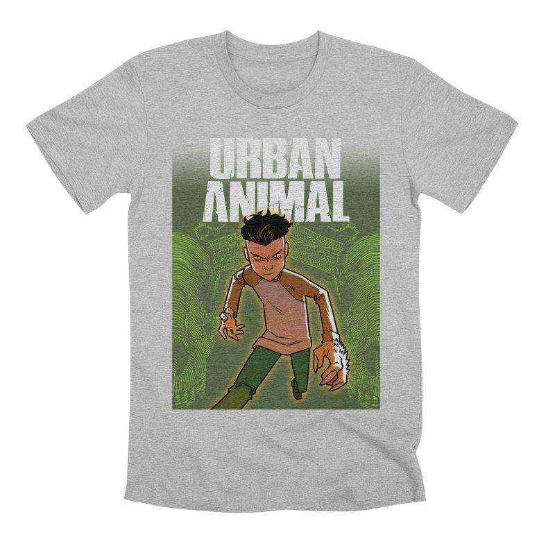 Beast Hands Men's T-Shirt by Urban Animal Store