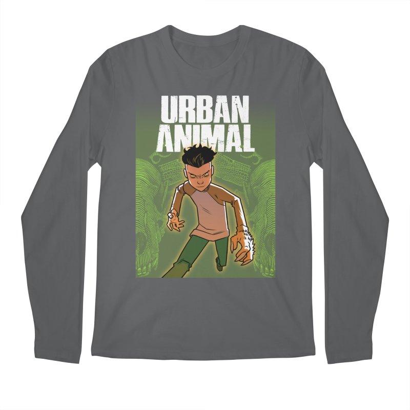 Beast Hands Men's Longsleeve T-Shirt by Urban Animal Store