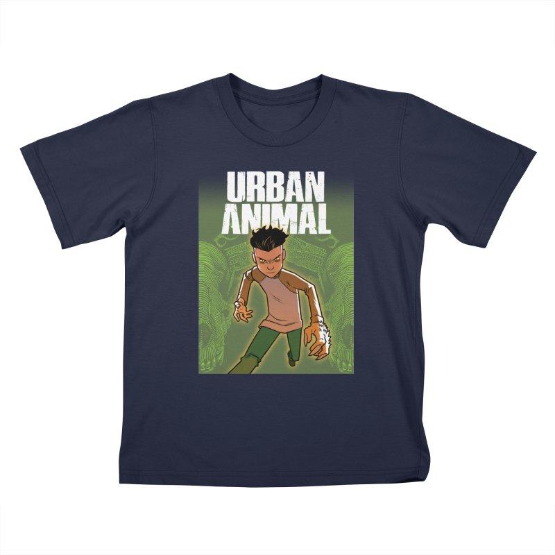 Beast Hands Kids T-Shirt by Urban Animal Store