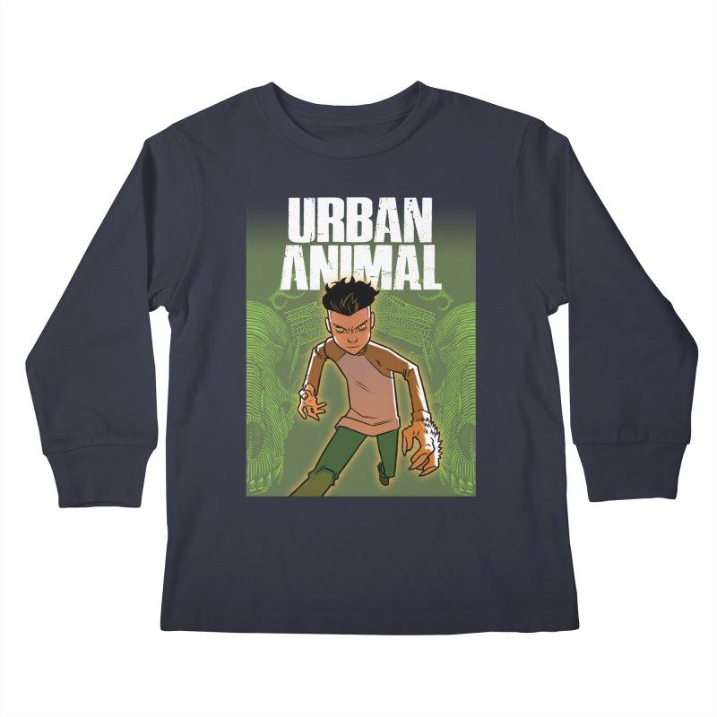Beast Hands Kids Longsleeve T-Shirt by Urban Animal Store