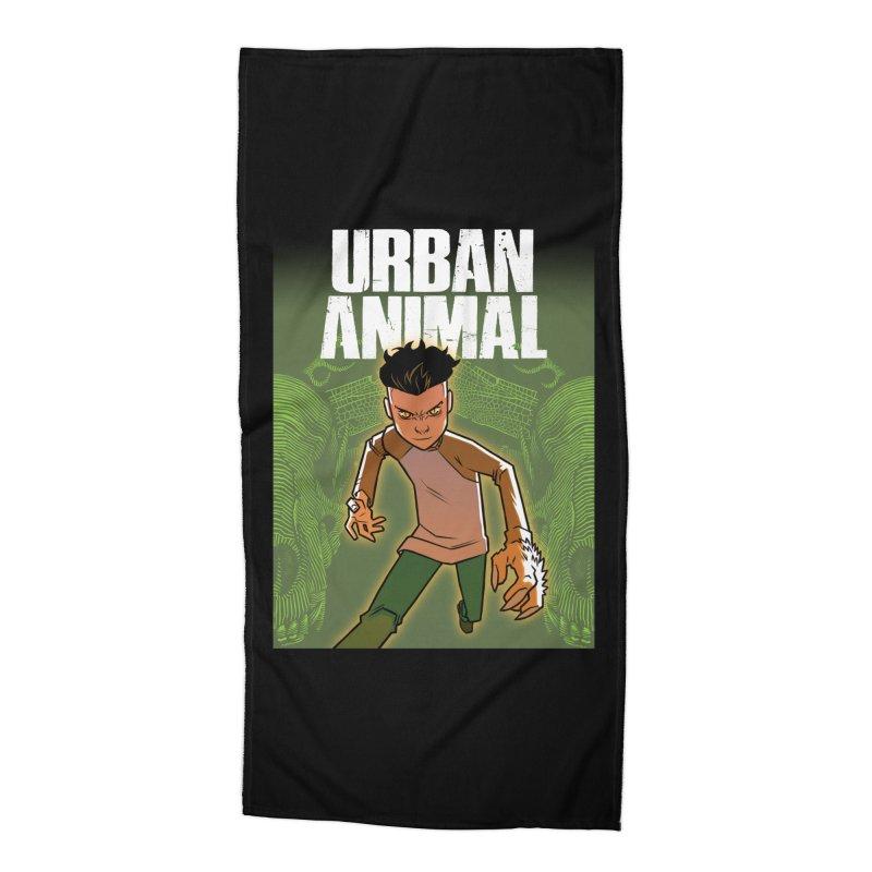 Beast Hands Accessories Beach Towel by Urban Animal Store