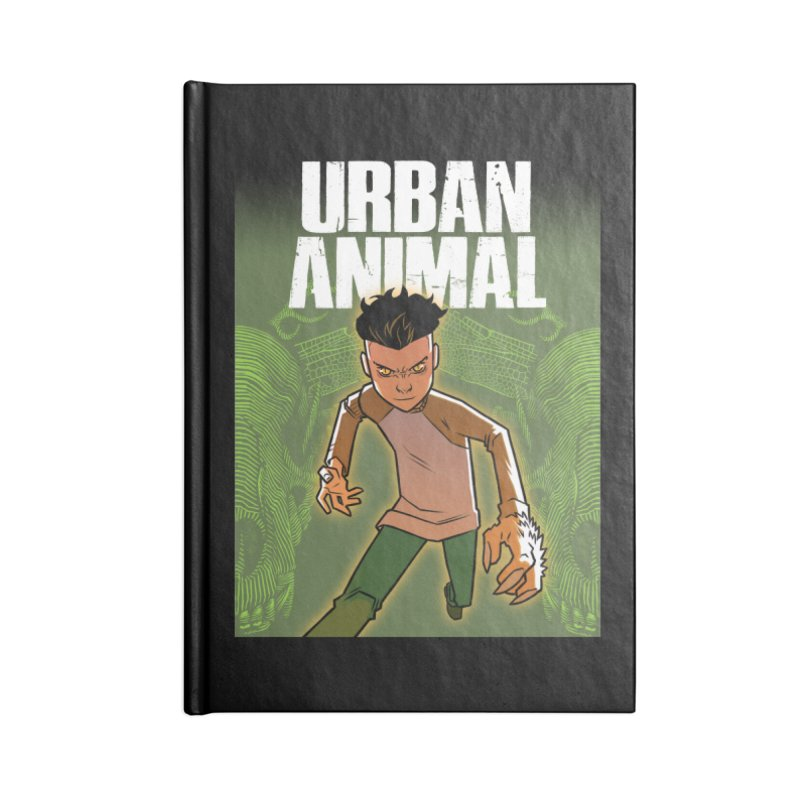 Beast Hands Accessories Notebook by Urban Animal Store