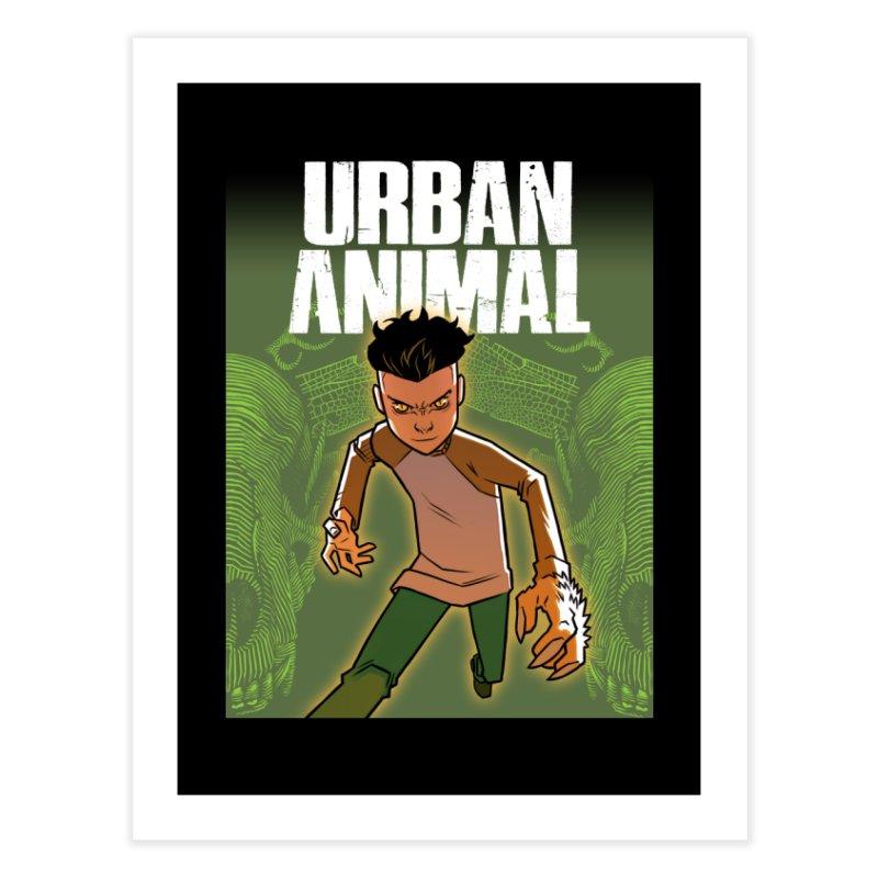Beast Hands Home Fine Art Print by Urban Animal Store