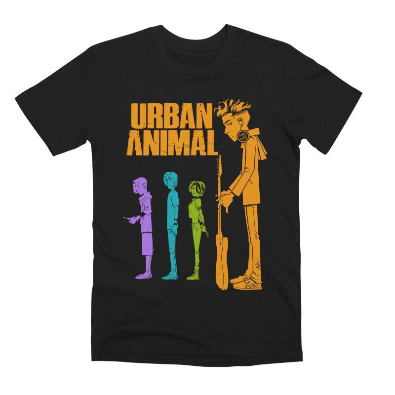 Baby Heist (Gorillaz Tribute) Men's T-Shirt by Urban Animal Store
