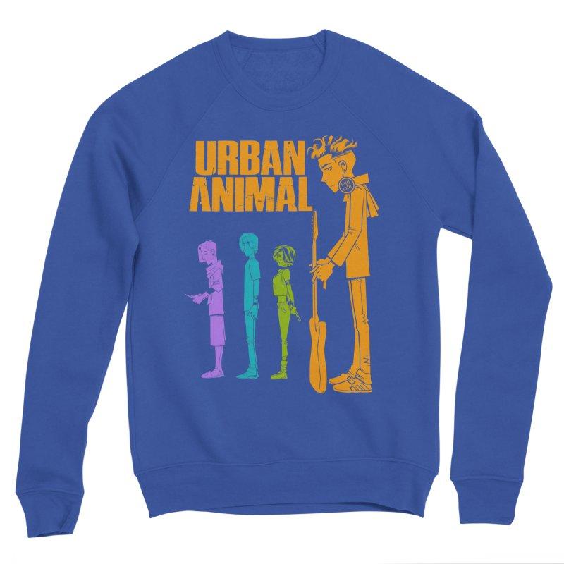 Baby Heist (Gorillaz Tribute) Men's Sweatshirt by Urban Animal Store