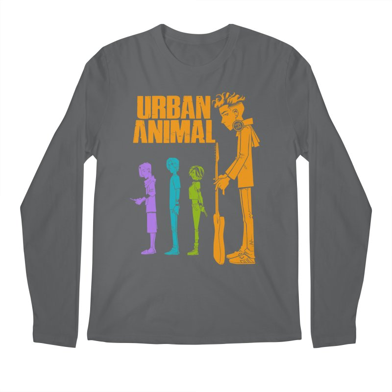 Baby Heist (Gorillaz Tribute) Men's Longsleeve T-Shirt by Urban Animal Store
