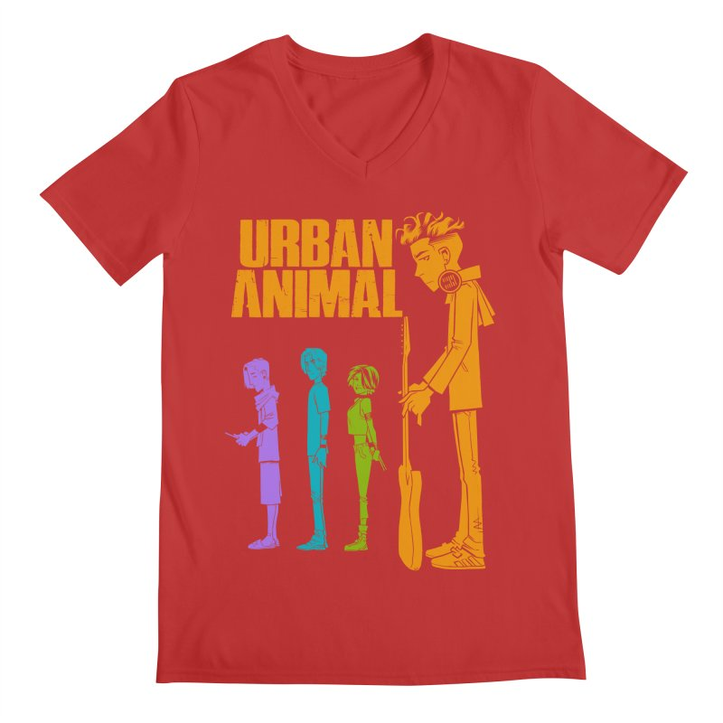 Baby Heist (Gorillaz Tribute) Men's V-Neck by Urban Animal Store