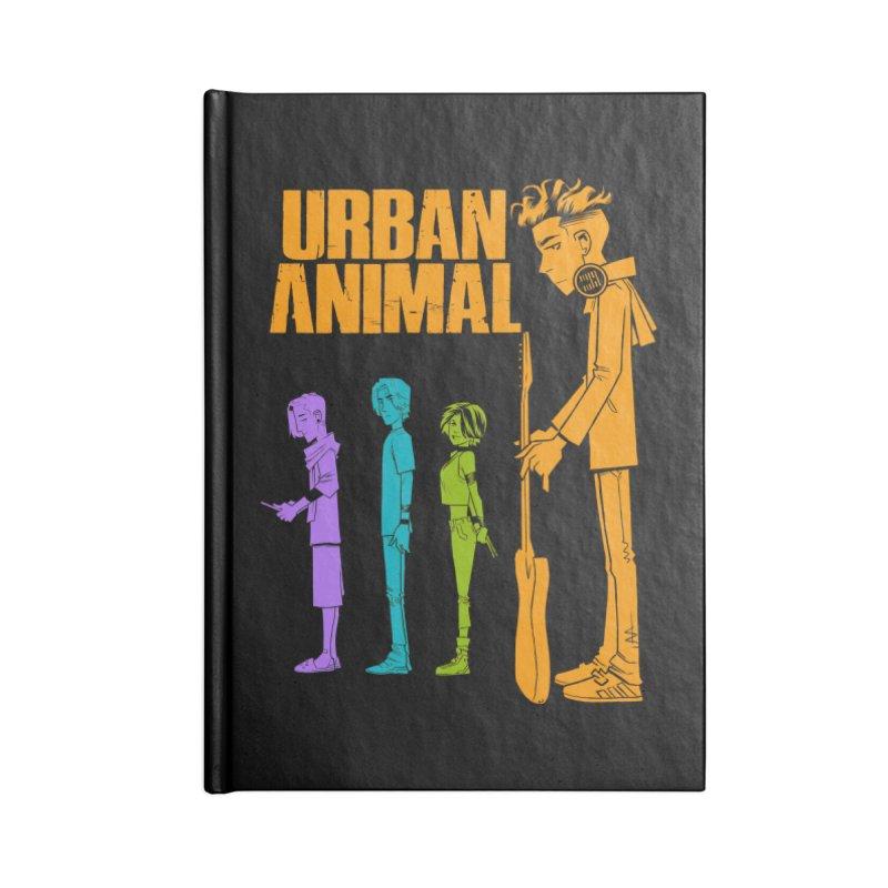 Baby Heist (Gorillaz Tribute) Accessories Notebook by Urban Animal Store