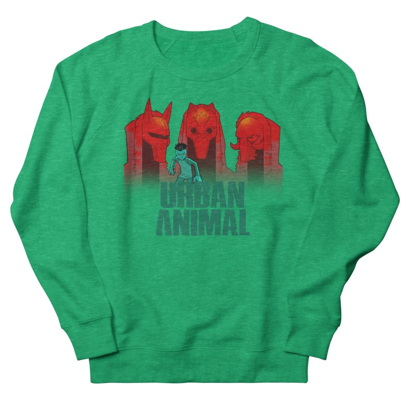 White Wolves - Hunter's Moon Women's Sweatshirt by Urban Animal Store