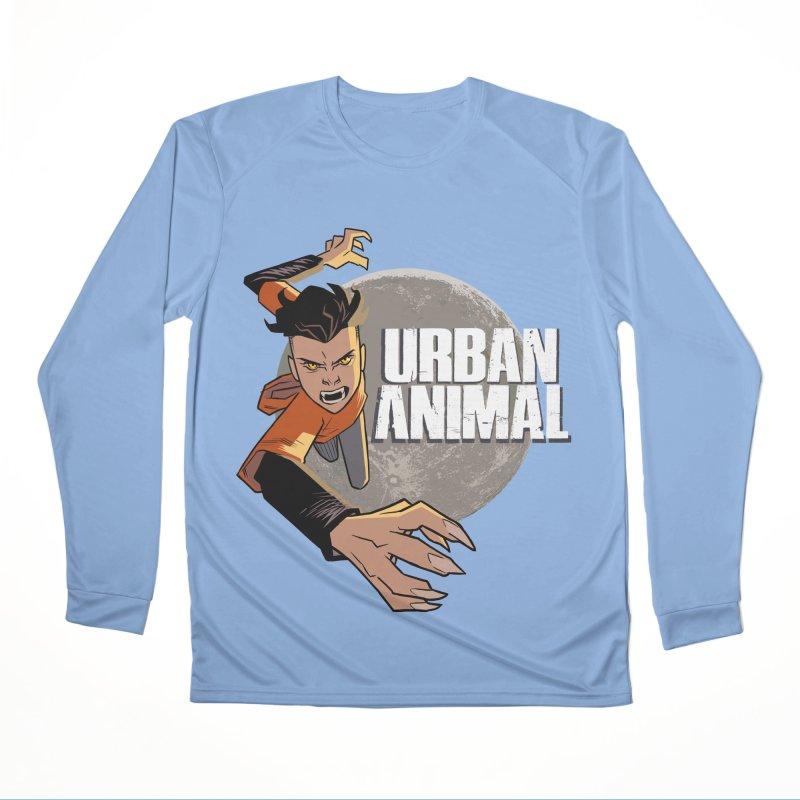 Night of the Chimera Men's Longsleeve T-Shirt by Urban Animal Store
