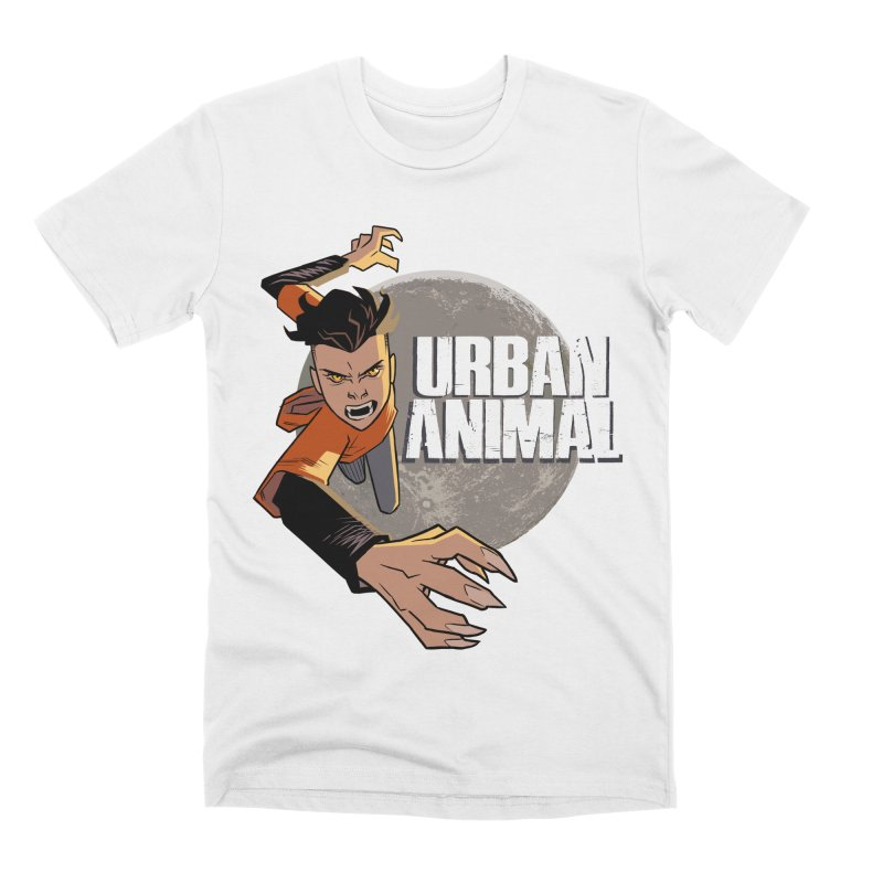 Night of the Chimera Men's T-Shirt by Urban Animal Store