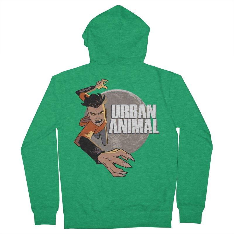 Night of the Chimera Men's Zip-Up Hoody by Urban Animal Store