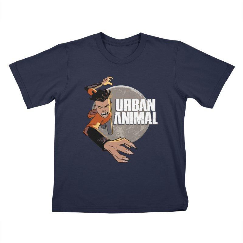 Night of the Chimera Kids T-Shirt by Urban Animal Store
