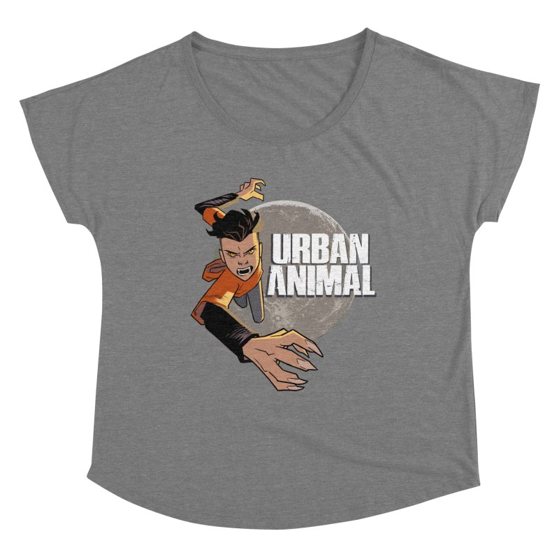 Night of the Chimera Women's Scoop Neck by Urban Animal Store