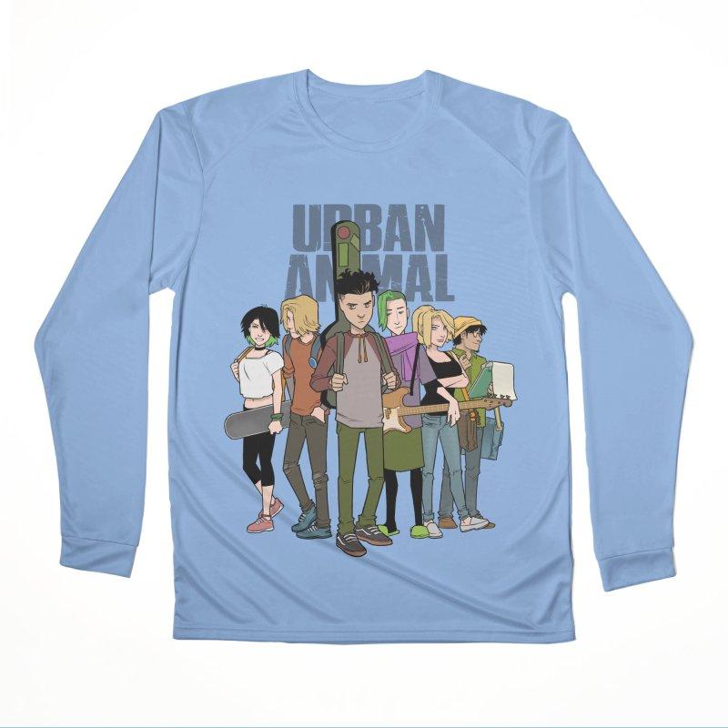 The Urban Animal Kids Men's Longsleeve T-Shirt by Urban Animal Store