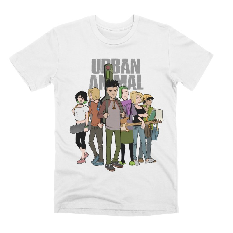 The Urban Animal Kids Men's T-Shirt by Urban Animal Store