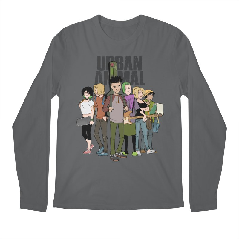 The Urban Animal Kids Men's Longsleeve T-Shirt by Urban Animal Store