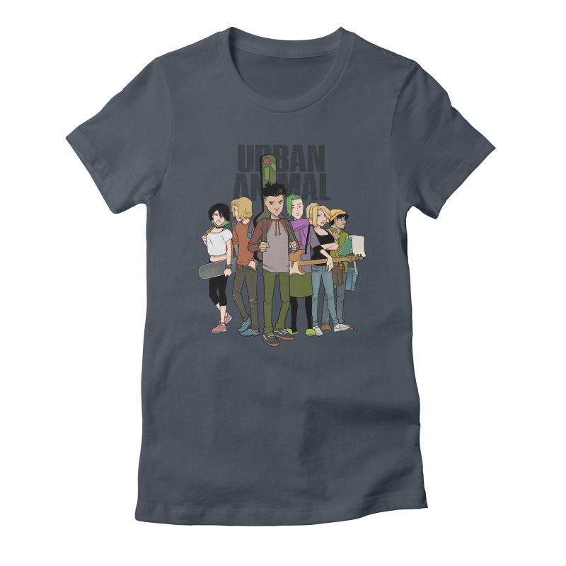 The Urban Animal Kids Women's T-Shirt by Urban Animal Store