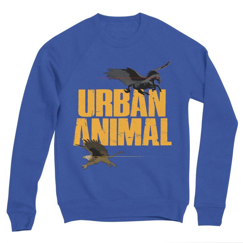 Winged Ones Men's Sweatshirt by Urban Animal Store