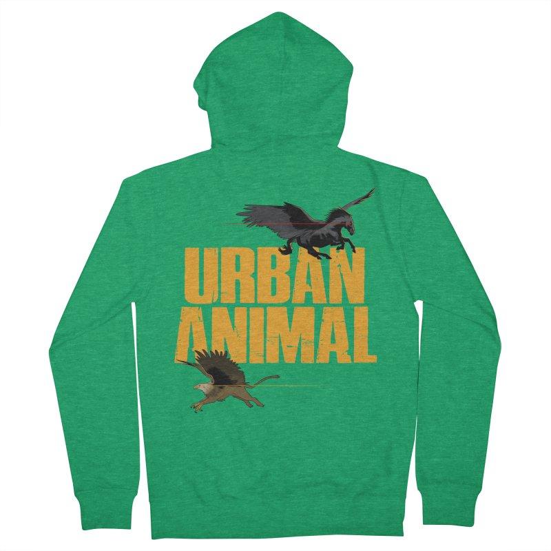Winged Ones Women's Zip-Up Hoody by Urban Animal Store