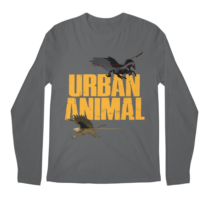 Winged Ones Men's Longsleeve T-Shirt by Urban Animal Store