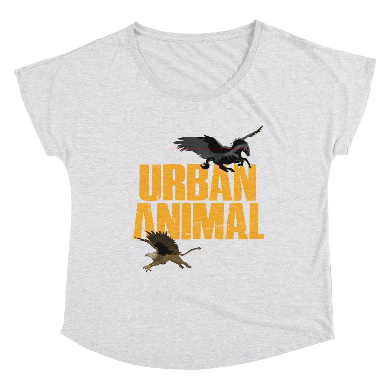 Winged Ones Women's Scoop Neck by Urban Animal Store