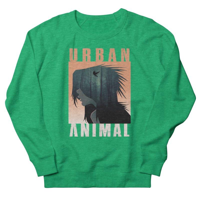 Black Bird Women's Sweatshirt by Urban Animal Store