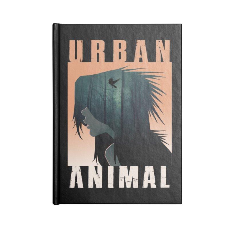 Black Bird Accessories Notebook by Urban Animal Store