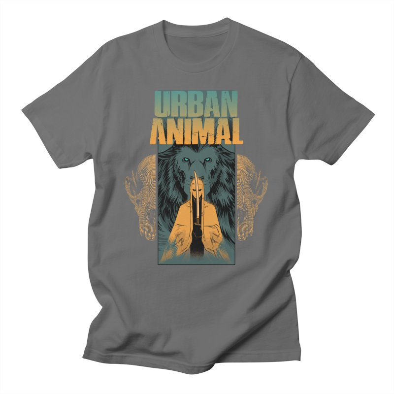Way of the White Wolf Men's T-Shirt by Urban Animal Store