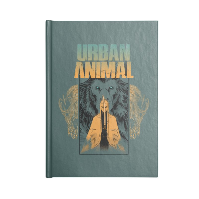 Way of the White Wolf Accessories Notebook by Urban Animal Store